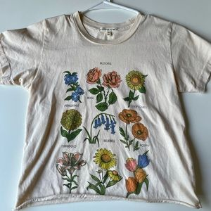 Urban outfitters flower tshirt